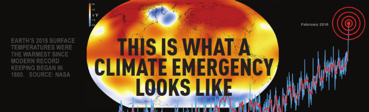 Climate Emergancy Banner
